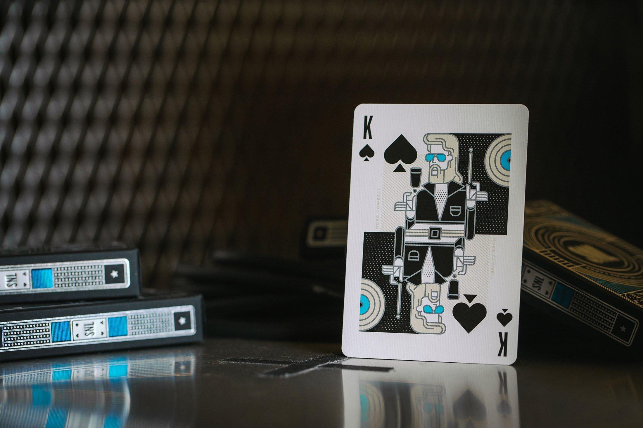 SNL - talia pokerowa od Theory11 - widok króla