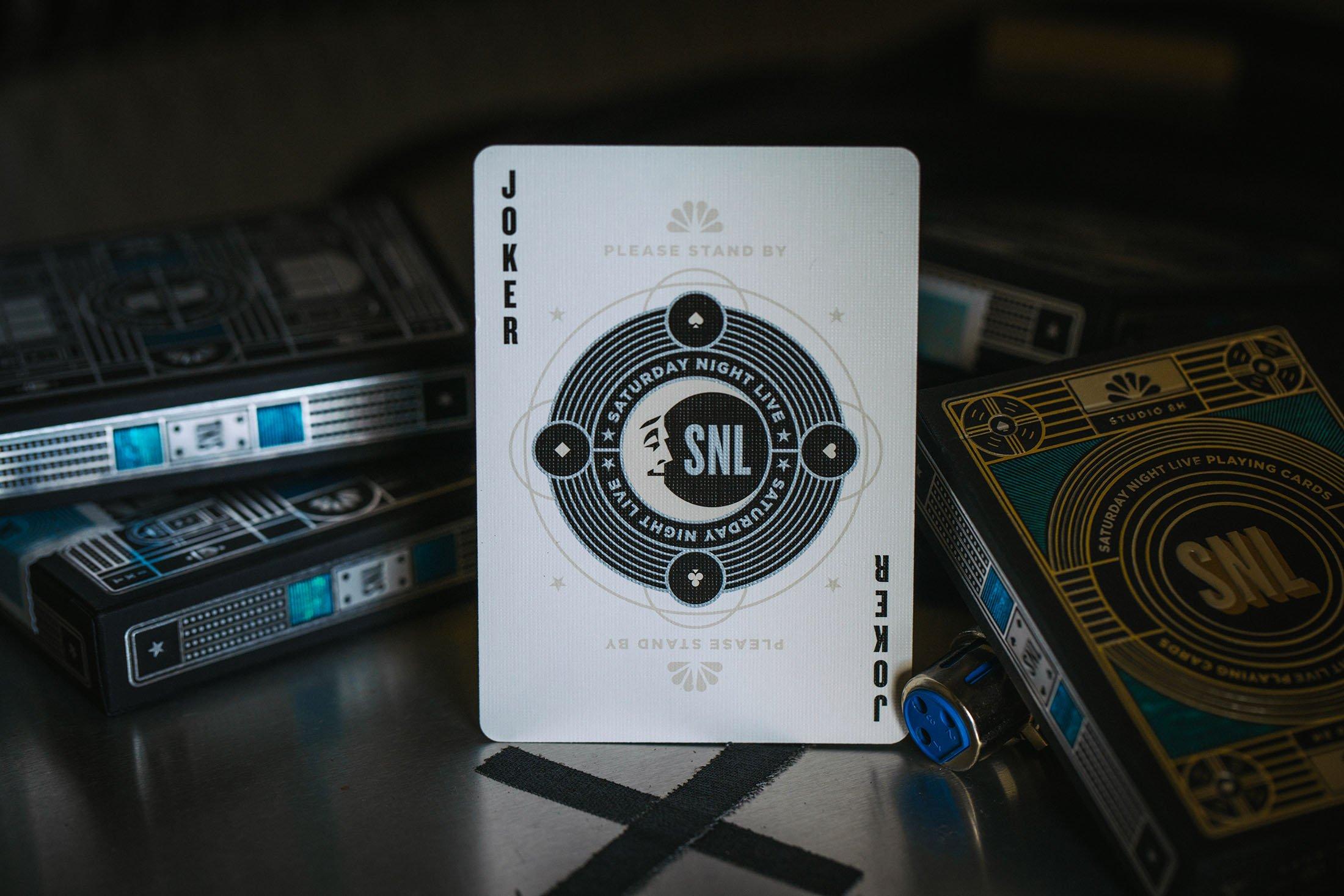 SNL - talia pokerowa od Theory11 - joker
