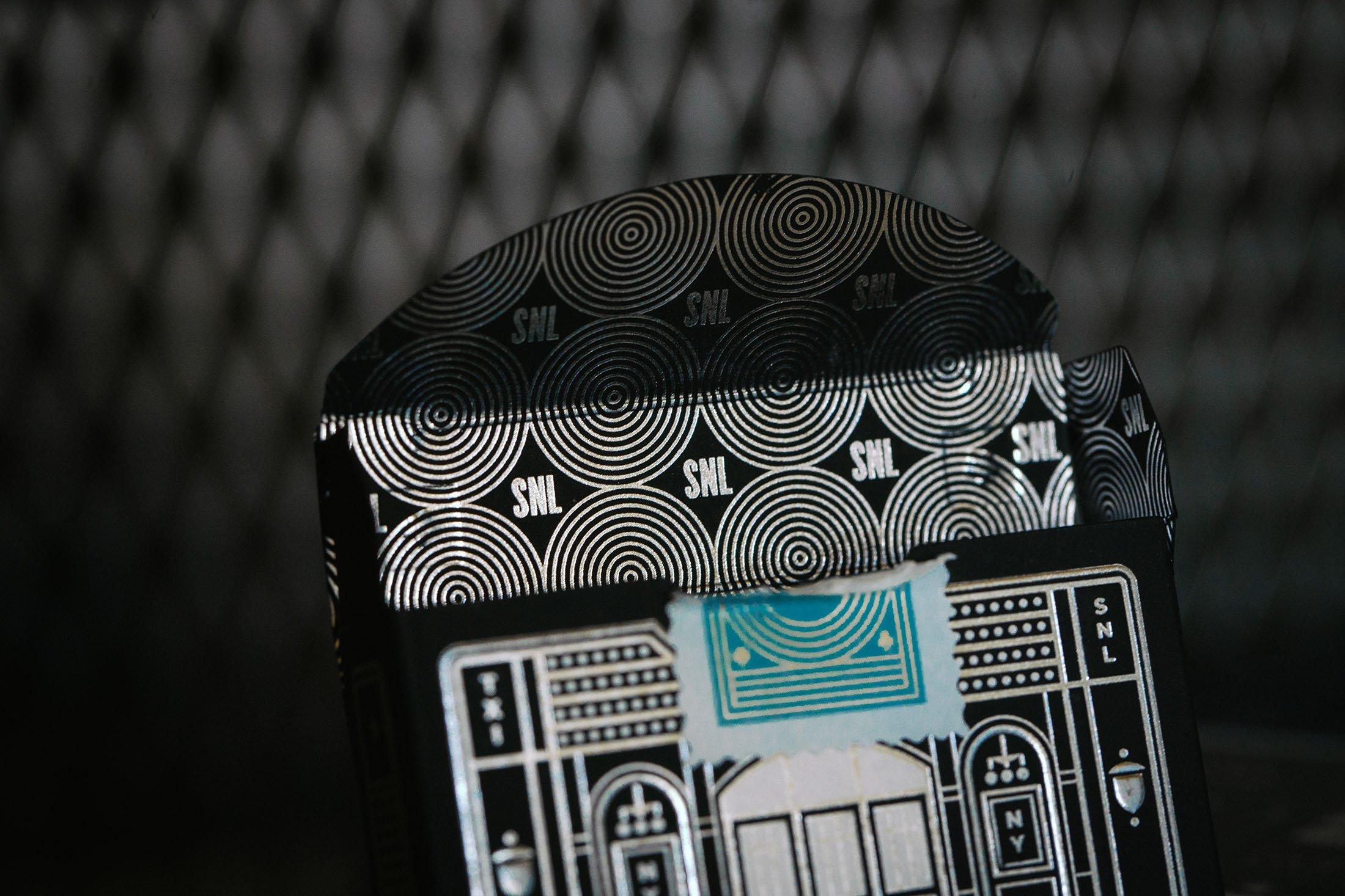 SNL - talia pokerowa od Theory11 - środek pudełka