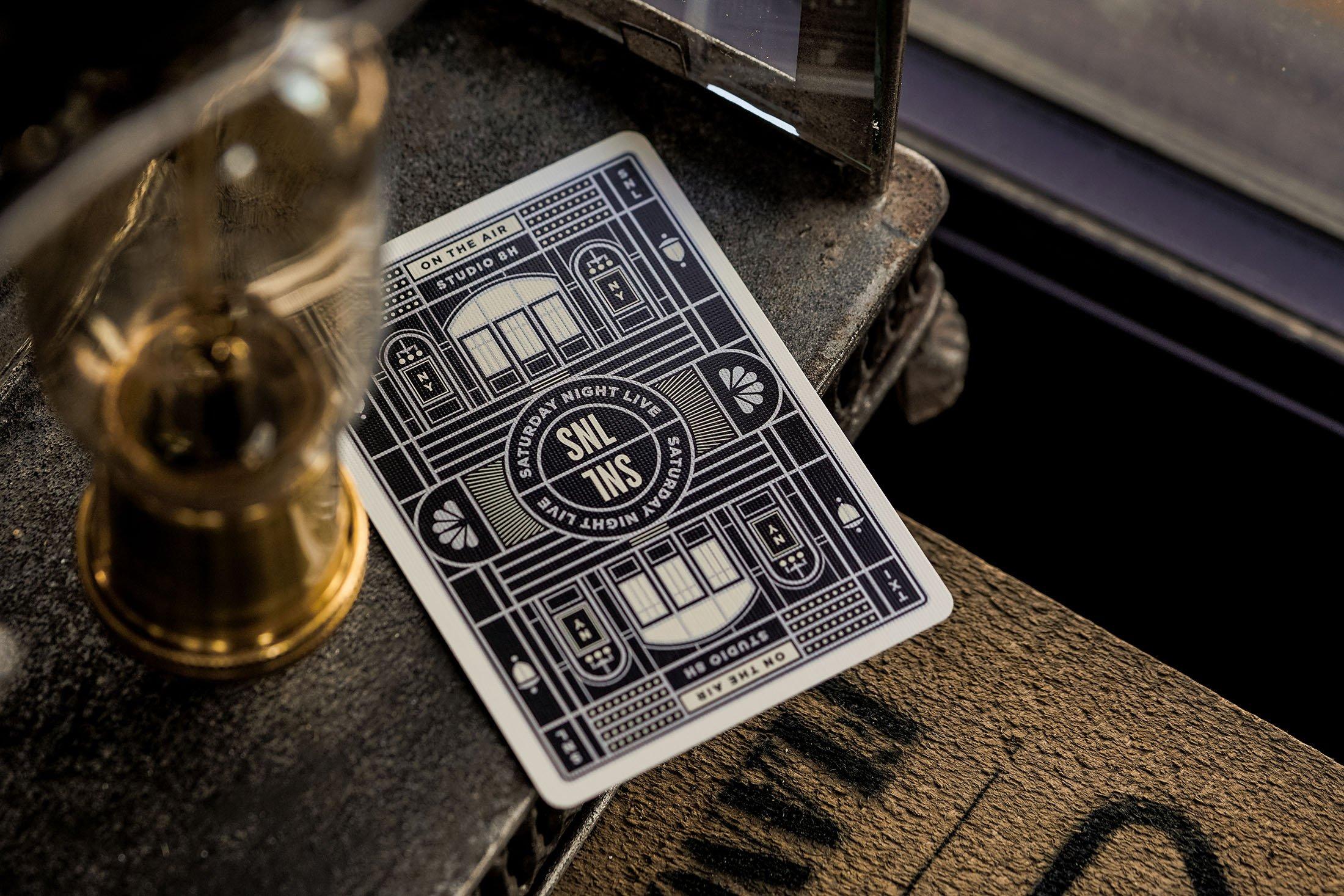 SNL - talia pokerowa od Theory11 - widok karty