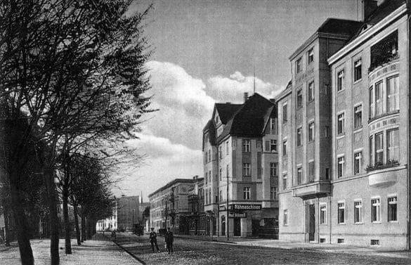 Stary Strzegom - fotografia - Al. Wojska Polskiego
