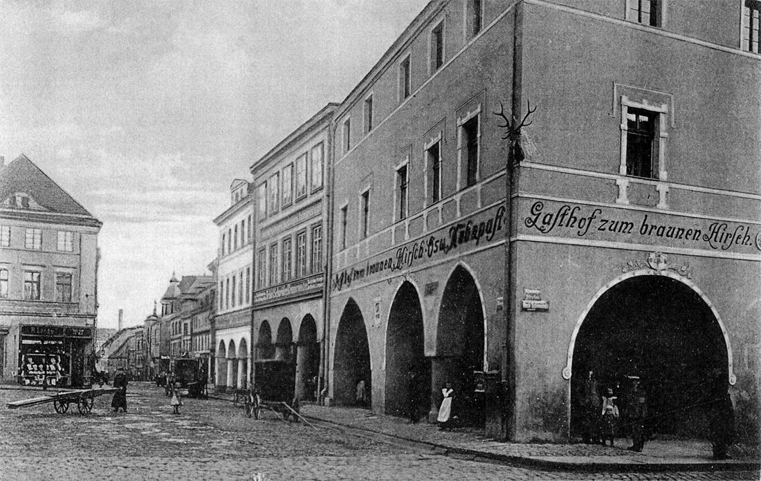 Stary Strzegom - fotografia - rynek