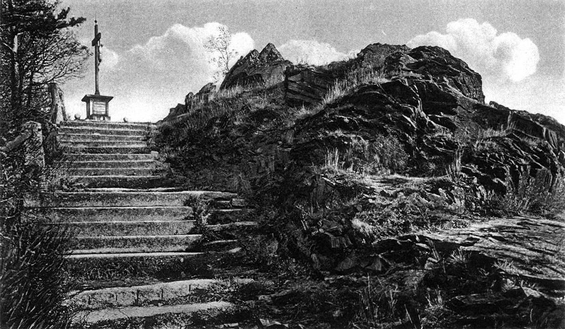 Stary Strzegom - fotografia - góra krzyżowa