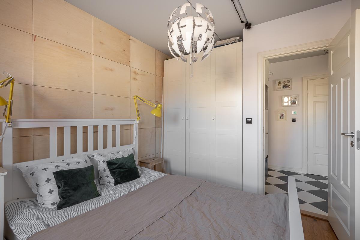 Mieszkanie dobrze urządzone - sypialnia