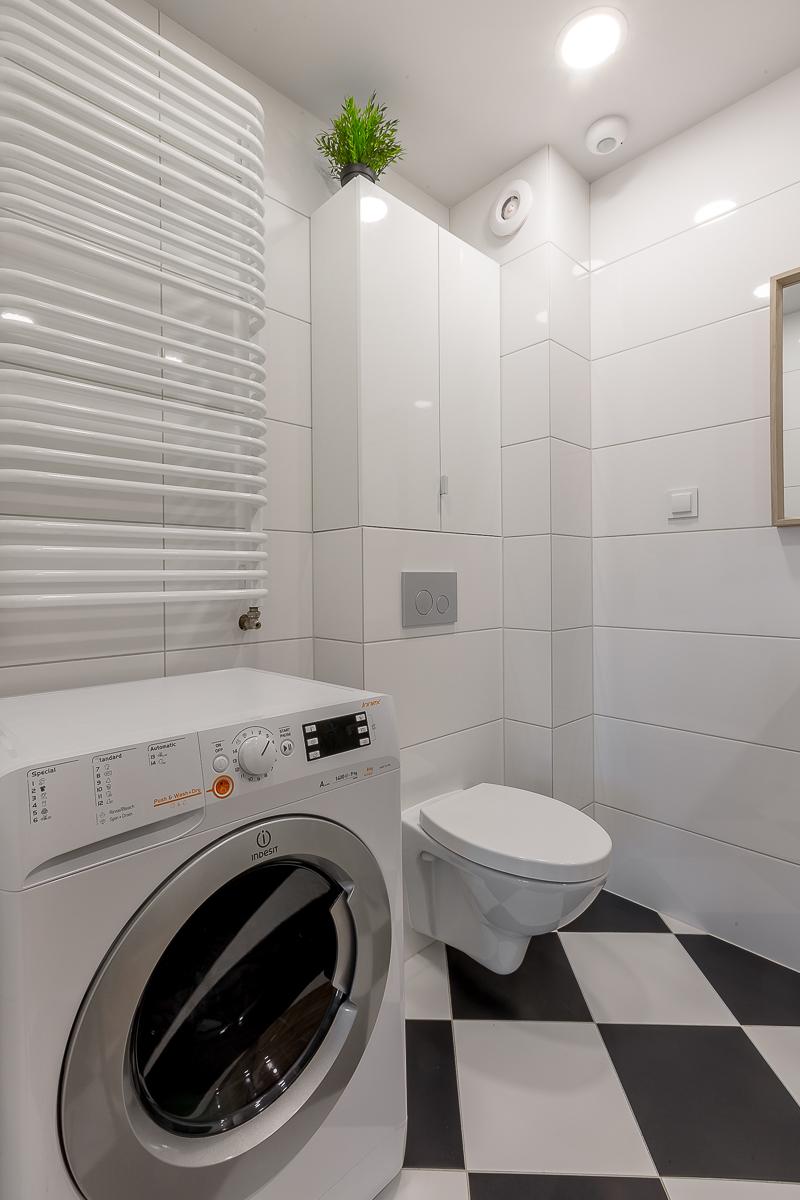 Mieszkanie dobrze urządzone - łazienka