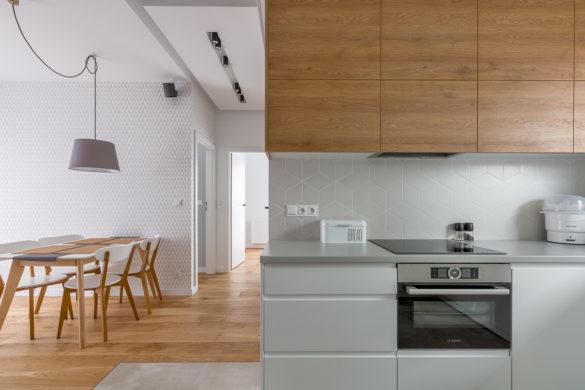 Galeria fotografii wnętrz - kuchnia z salonem