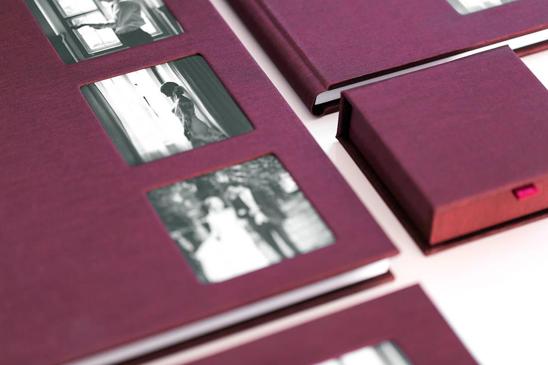 Albumy i pudełko