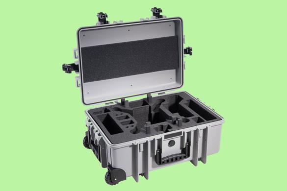 Walizka fotografa - sztywna walizka fotograf wnętrz - walizka na drona